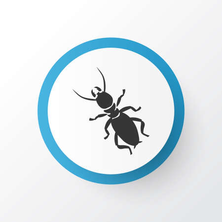 Thermit icon symbol. Premium quality isolated termite element in trendy style.