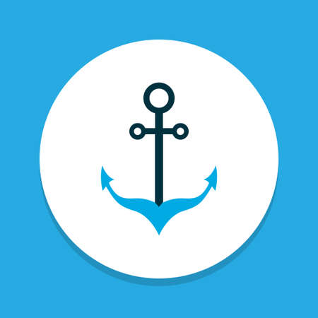 Armature icon colored symbol. Premium quality isolated sailing element in trendy style. Imagens - 124875297