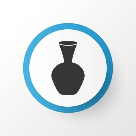 Vase icon symbol. Premium quality isolated pottery element in trendy style. Stock Illustratie