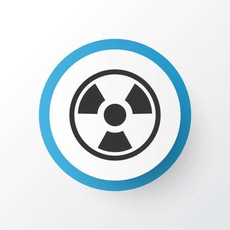 Biohazard icon symbol. Premium quality isolated dangerous element in trendy style.