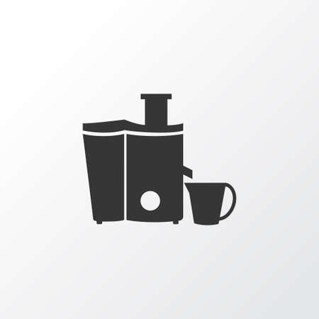 Juicer icon symbol. Premium quality isolated kitchenware element in trendy style.