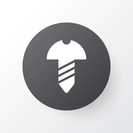 Screw icon symbol. Premium quality isolated bolt element in trendy style.