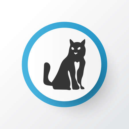 Cat icon symbol. Premium quality isolated kitten element in trendy style.