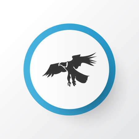 Eagle icon symbol. Premium quality isolated hawk element in trendy style.