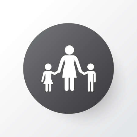 Family icon symbol. Premium quality isolated people element in trendy style.