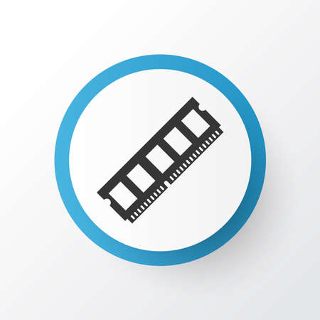 Ram icon symbol. Premium quality isolated dynamic memory element in trendy style.