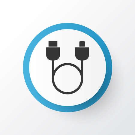 Adapter icon symbol. Premium quality isolated usb element in trendy style. Ilustrace