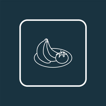 Healthy food icon line symbol. Premium quality isolated fruit element in trendy style.