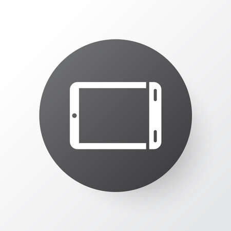 Palmtop icon symbol. Premium quality isolated tablet element in trendy style. Stock Photo - 134976451