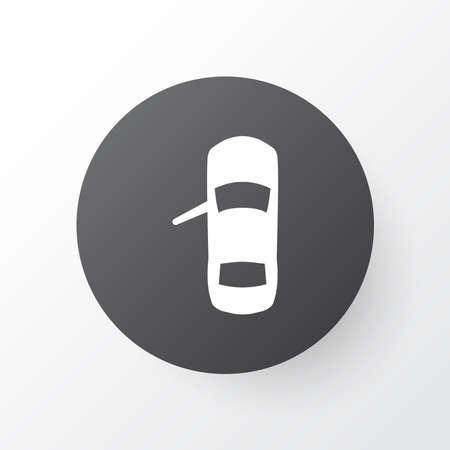 Door open icon symbol. Premium quality isolated autocar element in trendy style. Zdjęcie Seryjne
