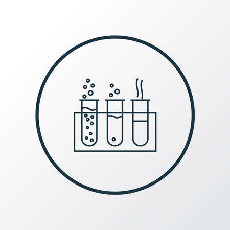 Chemistry icon line symbol. Premium quality isolated laboratory element in trendy style.