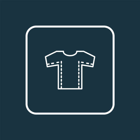 Sewing pattern icon line symbol. Premium quality isolated textile element in trendy style.