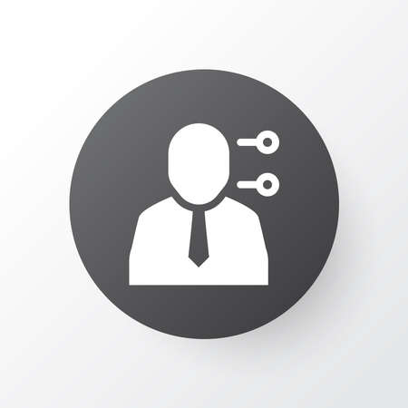 Multitasking icon symbol. Premium quality isolated personal skill element in trendy style.