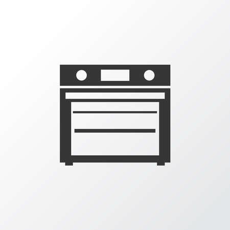 Oven icon symbol. Premium quality isolated stove element in trendy style.