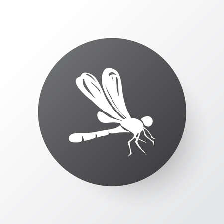 Dragonfly icon symbol. Premium quality isolated damselfly element in trendy style. Stock fotó - 136198705
