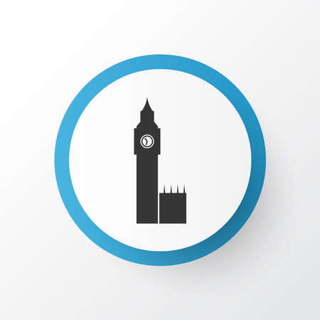 Big ben icon symbol. Premium quality isolated london element in trendy style.