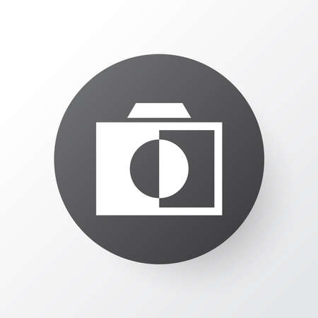 Monochrome icon symbol. Premium quality isolated colorless element in trendy style.