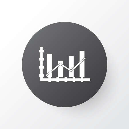 Growing icon symbol. Premium quality isolated growth element in trendy style.