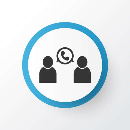 Call icon symbol. Premium quality isolated talking element in trendy style.