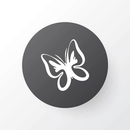 Butterfly icon symbol. Premium quality isolated moth element in trendy style.