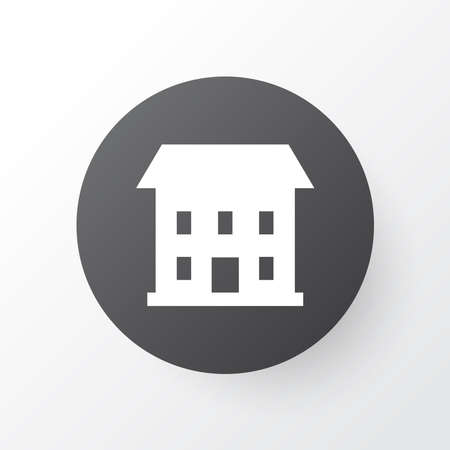 House icon symbol. Premium quality isolated home element in trendy style. Ilustracja