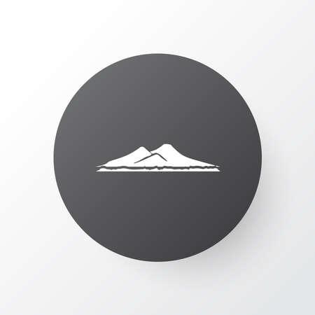 Vesuvio icon symbol. Premium quality isolated volcano element in trendy style.