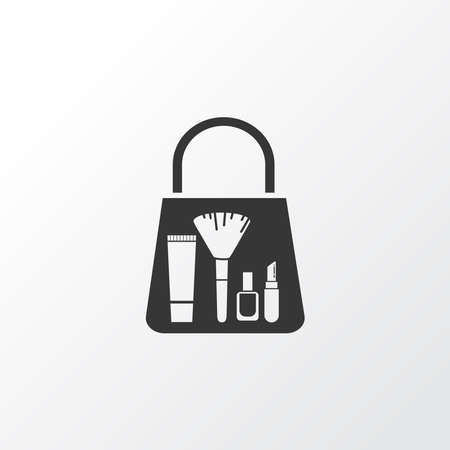 Beauty shopping icon symbol. Premium quality isolated merchandise element in trendy style.