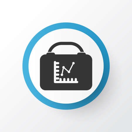 Employee rating icon symbol. Premium quality isolated analytics element in trendy style. Çizim