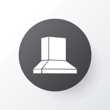 Exhaust hood icon symbol. Premium quality isolated extractor element in trendy style.