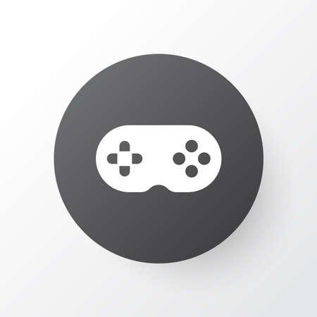 Joystick icon symbol. Premium quality isolated gamepad element in trendy style. Illusztráció