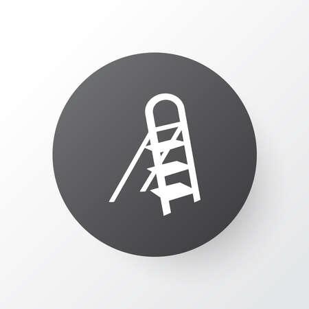 Stepladder icon symbol. Premium quality isolated stairs element in trendy style. Stock Illustratie