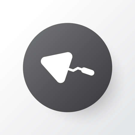Trowel icon symbol. Premium quality isolated spatula element in trendy style. Banque d'images - 152650738