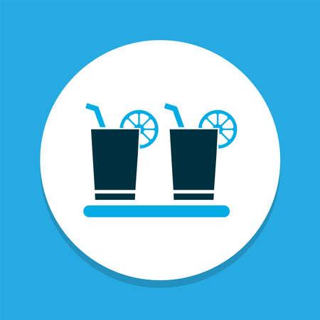 Margarita icon colored symbol. Premium quality isolated soda element in trendy style.