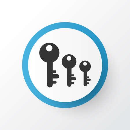 Keyword ranking icon symbol. Premium quality isolated key sorting element in trendy style. 写真素材