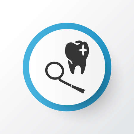 Dentistry icon symbol. Premium quality isolated tooth element in trendy style.