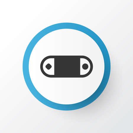 Wireless speaker icon symbol. Premium quality isolated radio set element in trendy style.