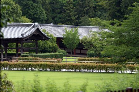 feudalism: Traditional japanese architecture. Picture taken in Nara city.