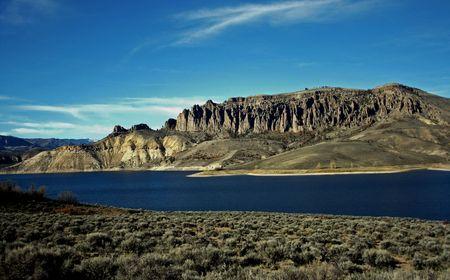 colorado rocky mountains: Wilderness landscape in Colorado rocky mountains USA