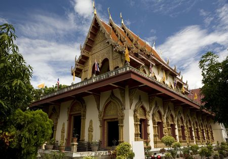 Phan On temple. Picture taken in Chiang Mai / Thailand 2006 Stock Photo - 856064