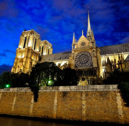 Notre Dame de Paris (French for Our Lady of Paris) photo