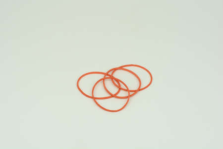 Rubber bands is normally made from natural rubber as it offer more elasticity