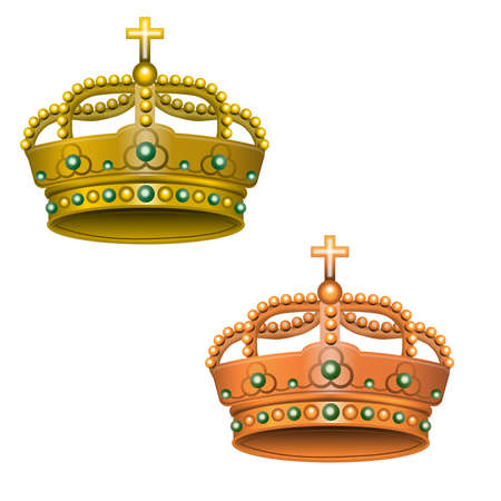 Two royal crowns