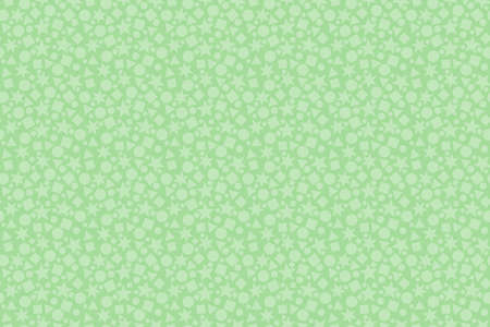 Wallpaper with pattern of geometric figures. Vector illustration.