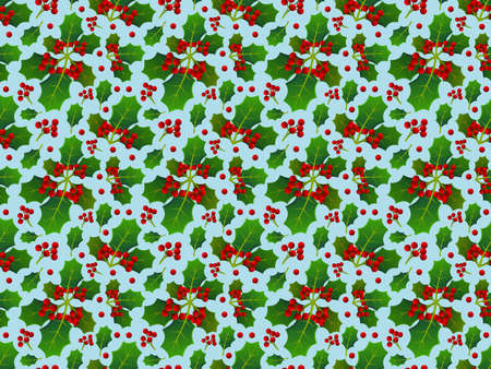 Background with pattern allusive to christmas theme. Seamless pattern. Illustration.