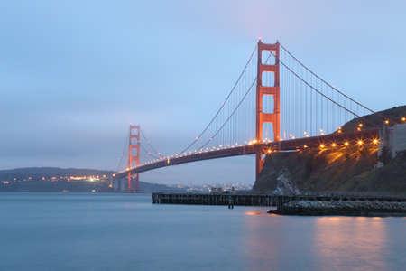 Golden Gate at San Francisco, California.
