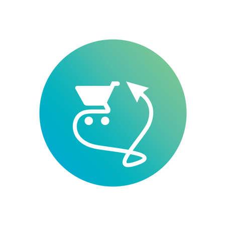 Online Shop Logo or Vector Icon.