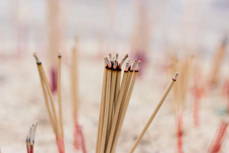 incense for worship at temple