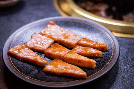 Hida beef (Hida gyu) is one of the best beef in Japan. Imagens