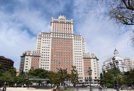 Tallest building in Madrid from 1953 to 1957 photo