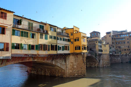 vechio: View of Ponte Vecchio, Florence, Tuscany, Italy